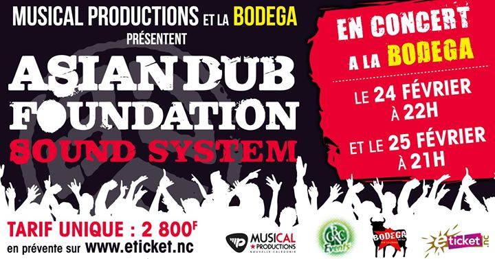 Asian Dub Foundation Sound System
