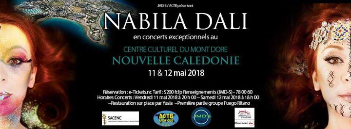 Nabila Dali En Concerts Exceptionnels En Nouvelle Calédonie