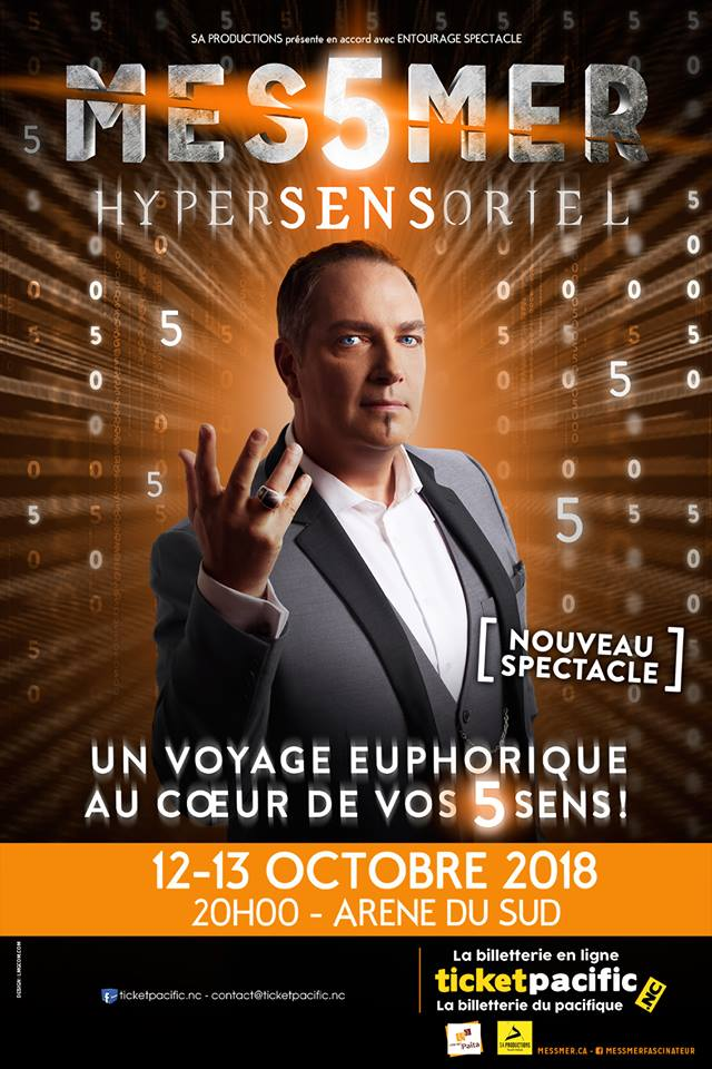 "Spectacle MESSMER ""HYPERSENSORIEL"""