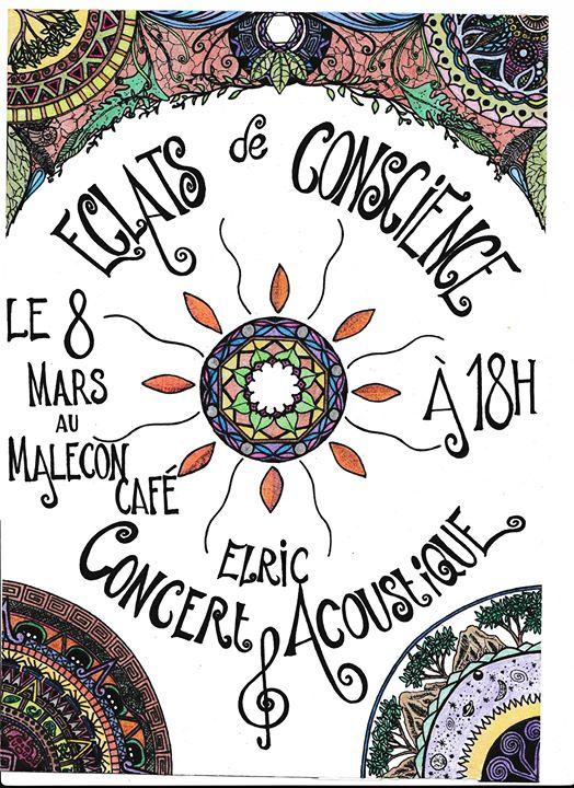 Elric en Concert Acoustique - au Malecon Café