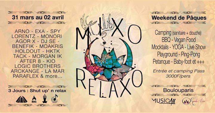 MIXO Relaxo at Boulouparis (MusicallBirthday)