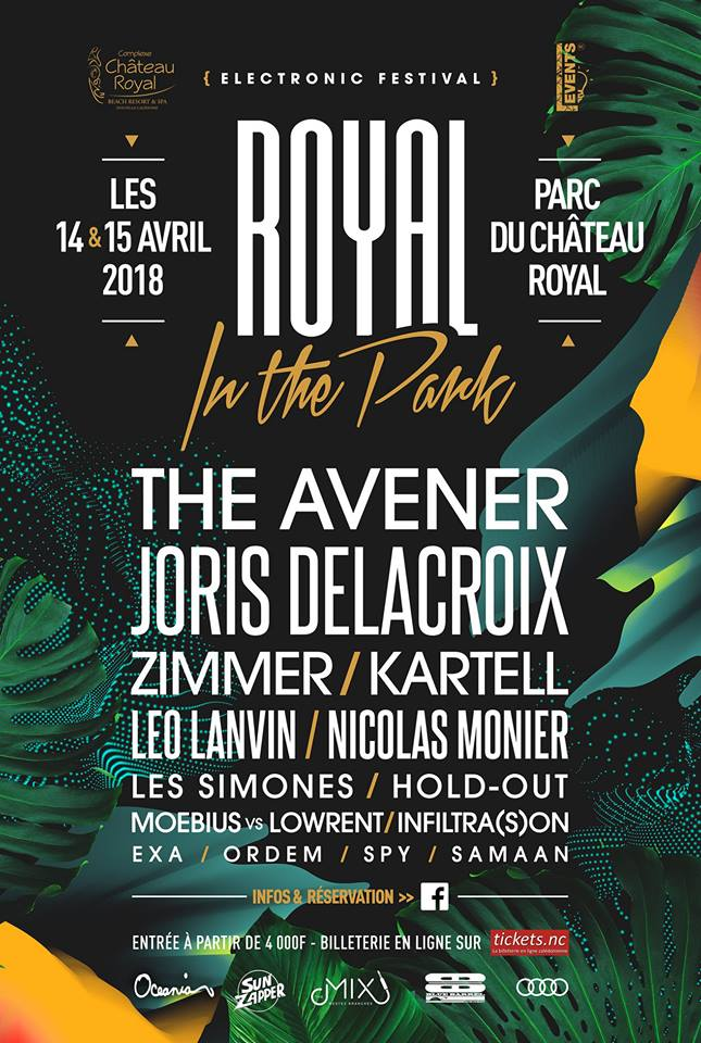 Festival Royal in the Park #1 - The Avener, Joris Delacroix