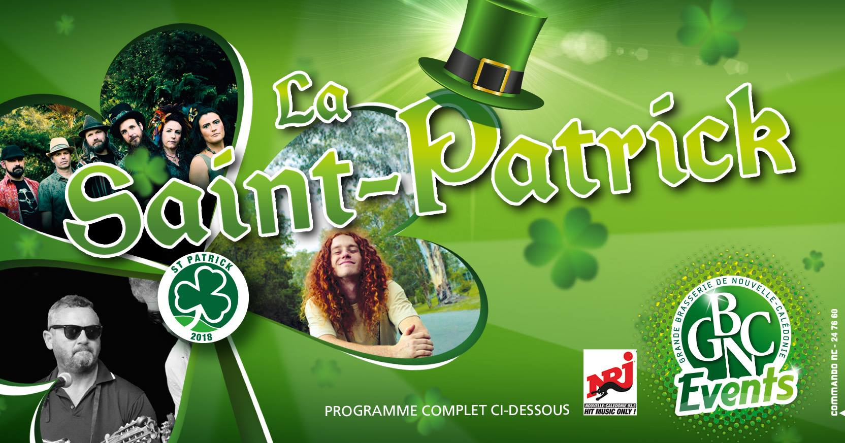 GBNC Events - La Saint Patrick 2018