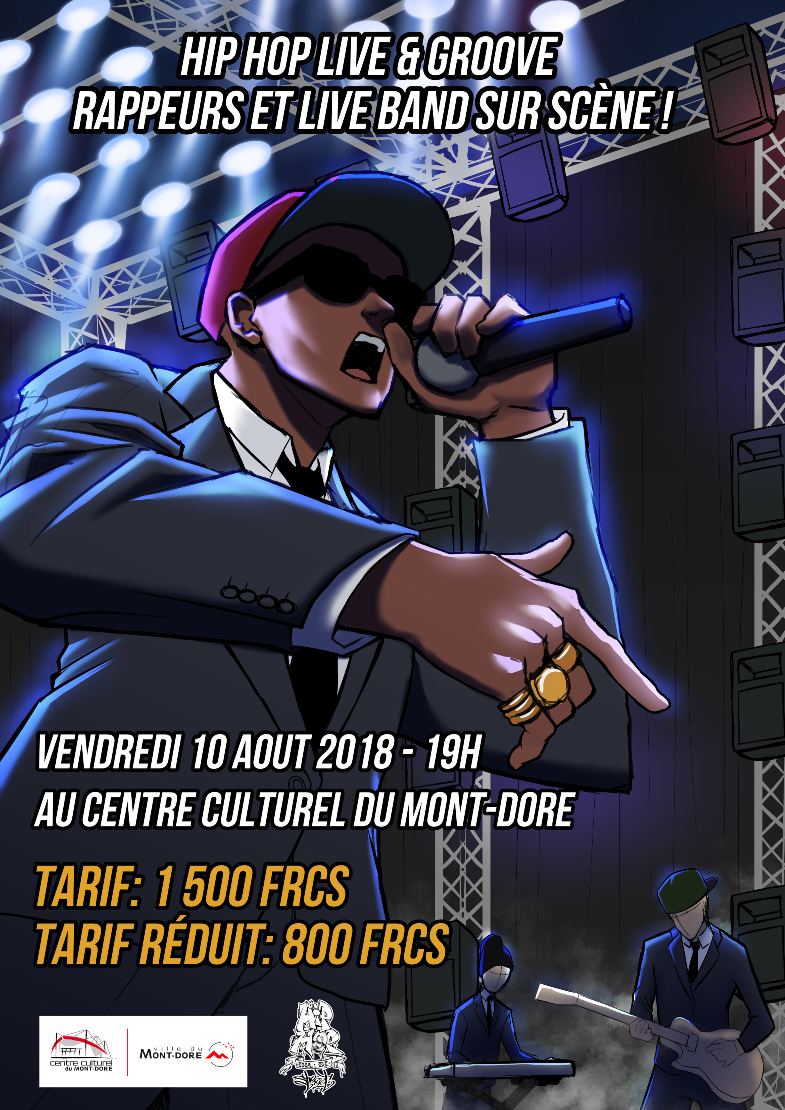 CONCERT : HIP HOP LIVE BAND RAP AND GROOVE