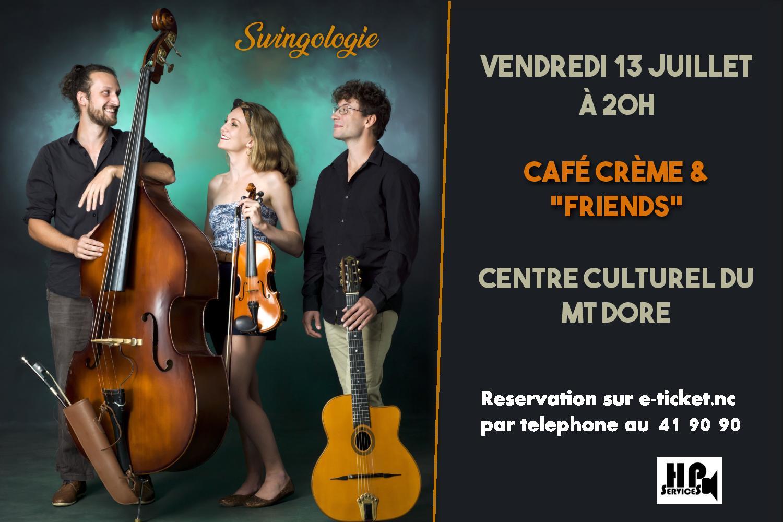 """CONCERT/ SWINGOLOGIE VOL2 """" café crème"""""""