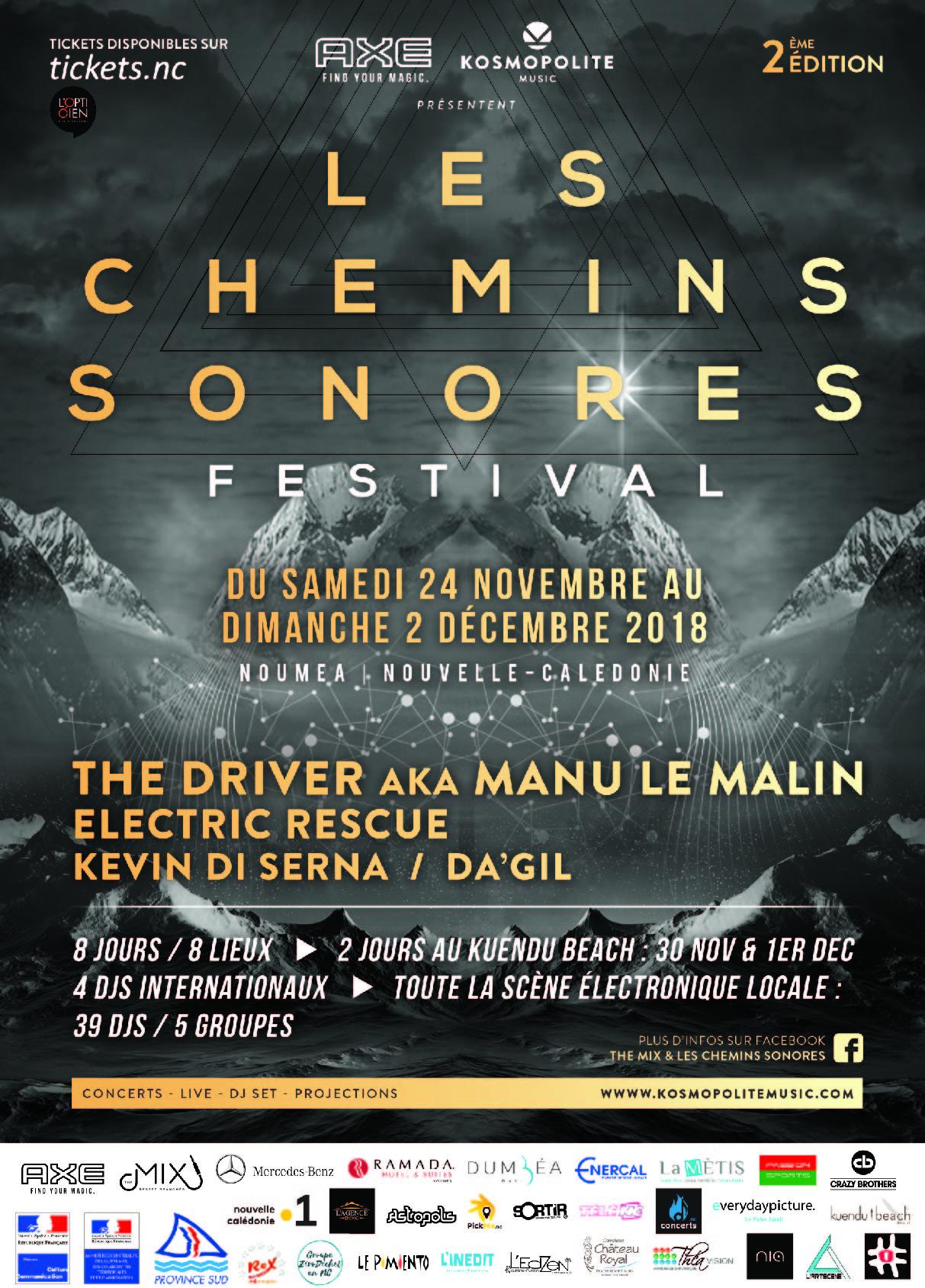 LES CHEMINS SONORES - JOUR 5 - THE DRIVER Aka Manu Le Malin/ Da'Gil (Astropolis)